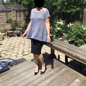 torrid Tops - Tunic with Lace Detail